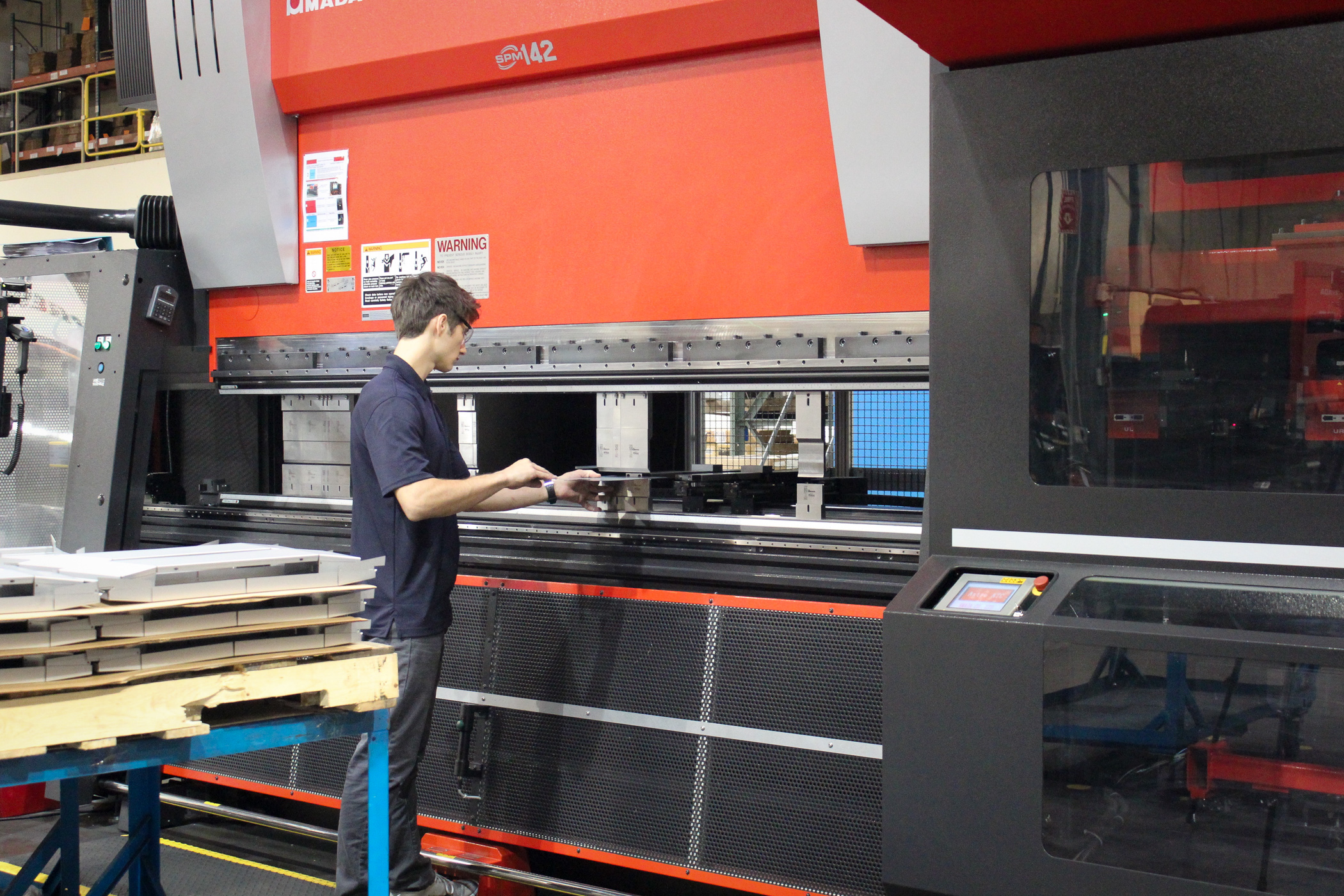 Punching Laser Cutting - SPM
